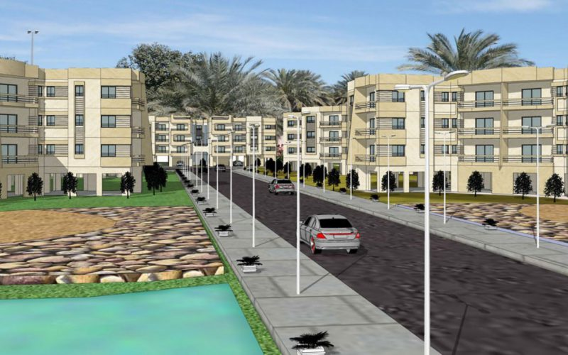7000 residential compound in Libya