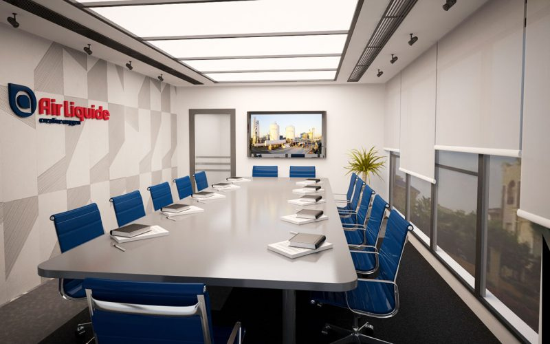 Air Liquide conference room