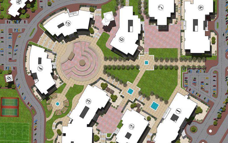 Al Hayah university masterplan