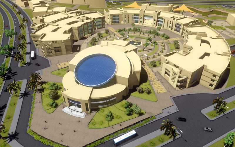 Badr university bird's eye view