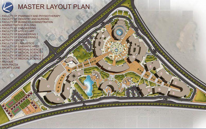 Badr university masterplan