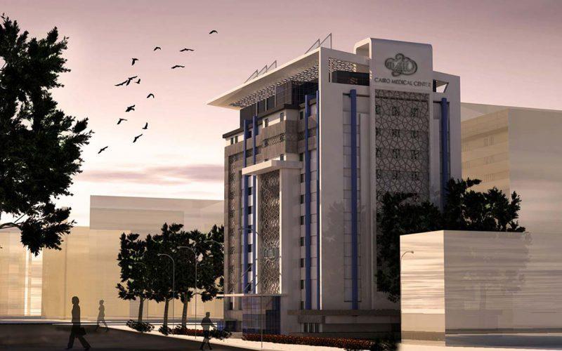 Cairo Medical Center sunset