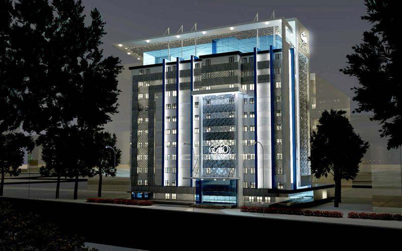 Cairo Medical Center night