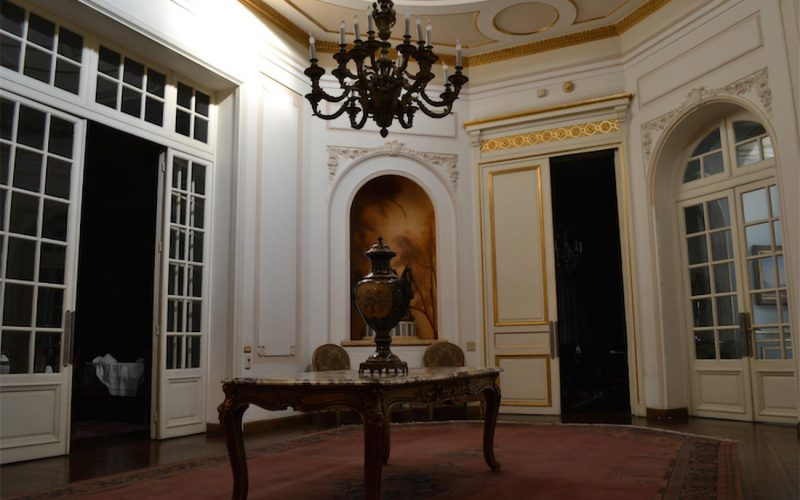 Egyptian Diplomatic Club interior