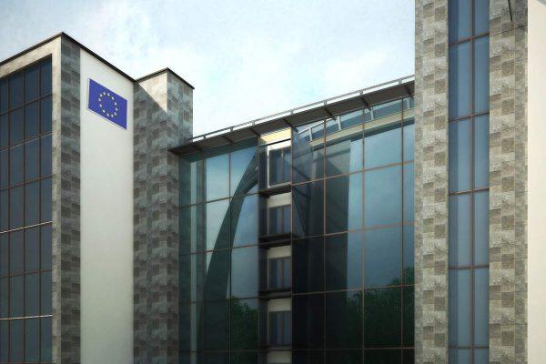 European union building in Zamalek