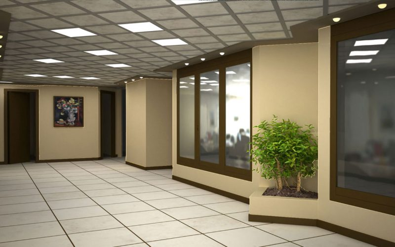 European union office interior