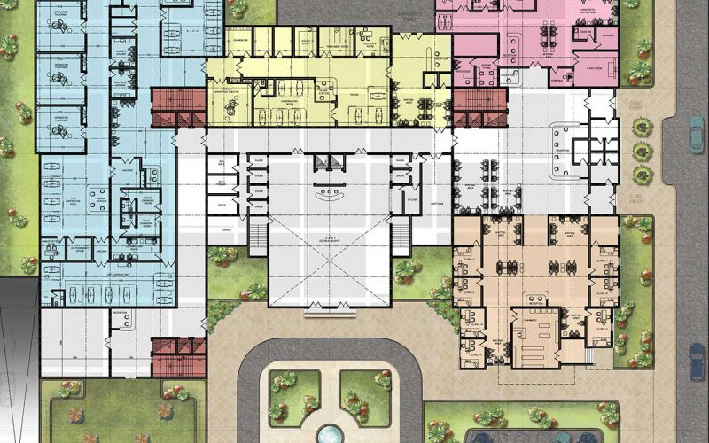 Ghaza elderly hospital plan