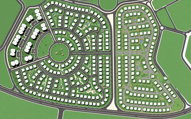 Greens compound masterplan