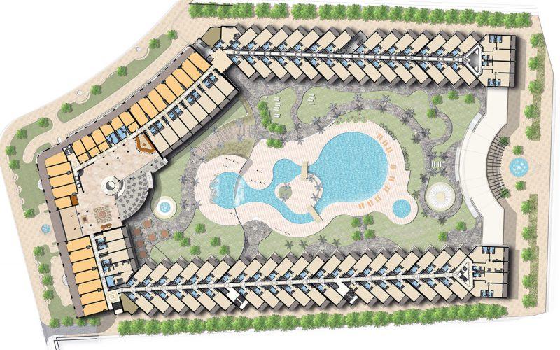 Marsa Alam Hotel masterplan
