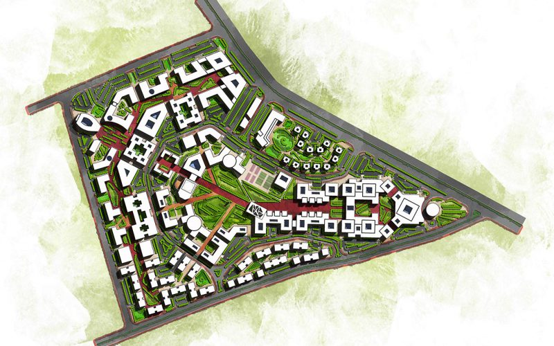 Nabta University masterplan