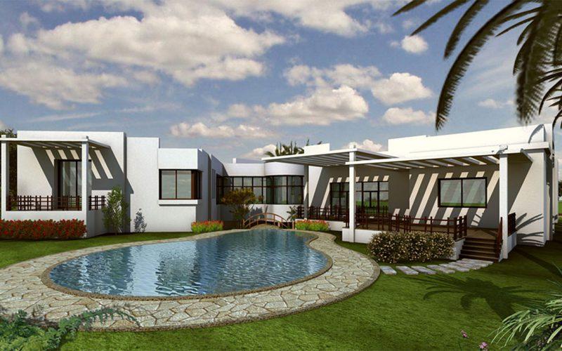 Pyramids hills villa with pool