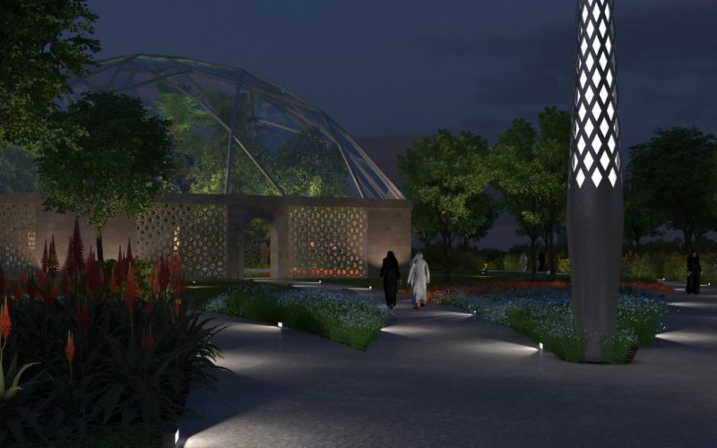 Rawdat Al Khail Park night