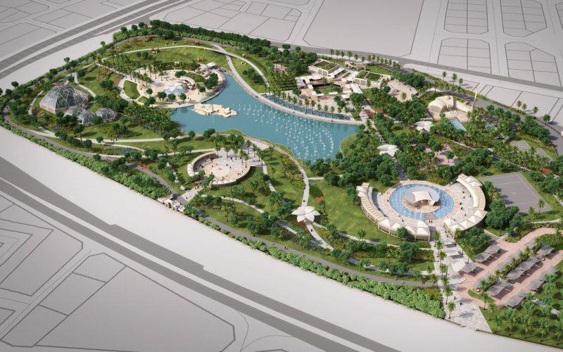 Rawdat Al Khail Park Masterplan