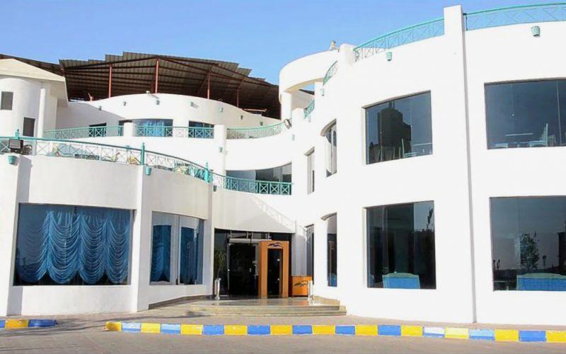 Sharrm Cliff Resort main building