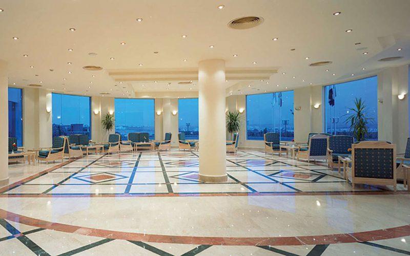 Sharrm Cliff Resort lobby