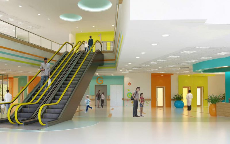 Sohag Children's Hospital interior