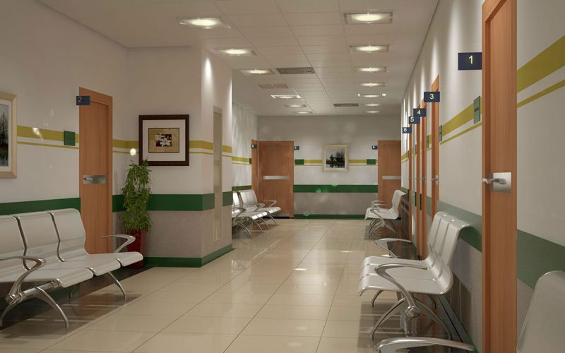 Al SHifaa Orman Hospital hall
