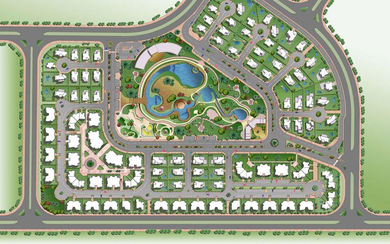 Al Werood compound masterplan